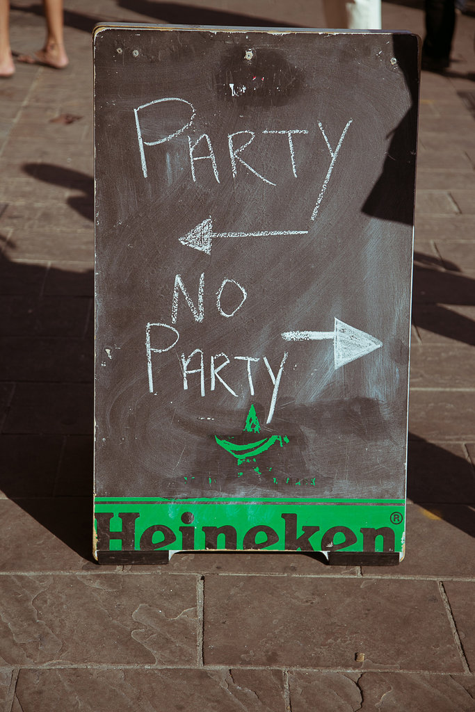 SXSW in Austin Party Sign